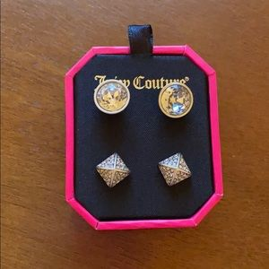Juicy Couture Earring Set